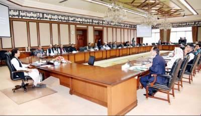 وفاقی کابینہ نے وزیر خزانہ کے اختیارات سمیت 6 نکاتی ایجنڈے کی منظوری دیدی
