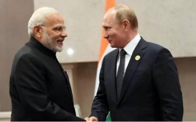 روسی صدر پیوٹن دو روزہ دورے پر بھارت پہنچ گئے