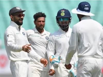 بھارت نے ویسٹ انڈیز کو پہلے ٹیسٹ میچ میں اننگز اور 272 رنز سے شکست دیدی