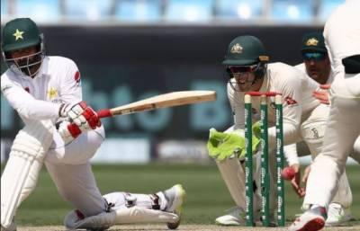 دبئی ٹیسٹ: کھیل کے اختتام پر پاکستان کے 3 وکٹوں پر 255 رنز