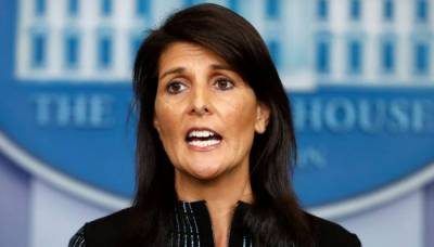 اقوام متحدہ میں امریکی سفیر نکی ہیلی نے عہدے سے استعفیٰ دیدیا