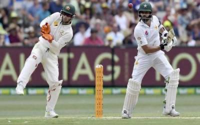 دبئی ٹیسٹ:چوتھے دن کا کھیل جاری پاکستان نےکھانے کے وقفے تک کتنے رنز بنالیے ؟ اہم ترین خبر پڑھیں