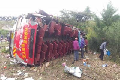 کینیا میں خوفناک ٹریفک حادثہ ، 50 افراد جاں بحق