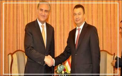 وزیر خارجہ شاہ محمود قریشی کی تاجک وزیراعظم سے ملاقات