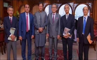 وزیراعظم سے جاپانی وفد کی ملاقات،پاکستان میں سرمایہ کاری کی خواہش کا اظہار
