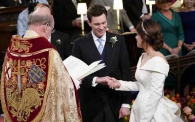 ملکہ برطانیہ کی پوتی شہزادی یوجین رشتہ ازدواج میں منسلک