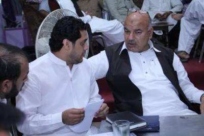 پاکستان تحریک انصاف کے این اے 124 کے امیدوارغلام محی الدین کیخلاف مقدمہ درج
