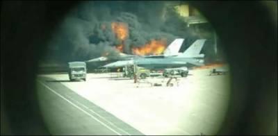 بیلجیئم میں ٹیکنیشن کی غلطی سے ایف سولہ طیارہ تباہ