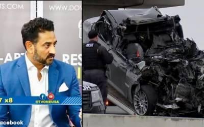 ہیوسٹن،ٹریفک حادثے میں ٹی وی ہوسٹ خرم ابراہیم جاں بحق