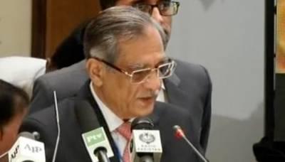 مستقبل میں پاکستان آبی قلت کا شکار ہو سکتا ہے، چیف جسٹس