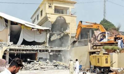 لاہور میں تجاوزات کیخلاف آپریشن، 3757 کنال اراضی واگزار کرائی گئی