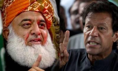 تحریک انصاف نے مولانا فضل الرحمان کو منانے کا فیصلہ کرلیا