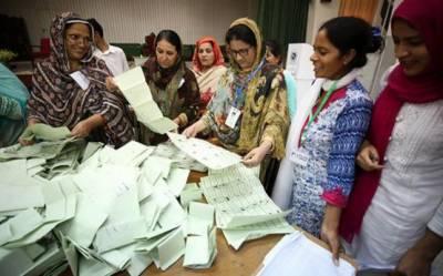 کراچی میں قومی اورصوبائی کی دونوں نشستوں پر پی ٹی آئی کے امیدوار آگے
