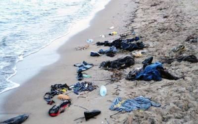بودرم کے قریب مہاجرین کی کشتی ڈوب گئی