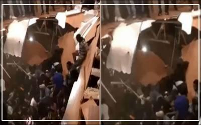 جنوبی کیرولینا میں چھت گرنے سے ڈانس پارٹی میں شریک 30 افراد زخمی