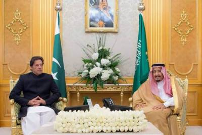وزیراعظم عمران خان کی سعودی فرمانروا شاہ سلمان بن عبدالعزیز سے ملاقات