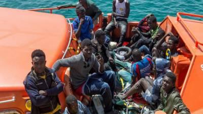 بحیرہ روم سے سپین پہنچنے والے مہاجرین کی تعداد پینتالیس ہزار سے تجاوز کرگئی
