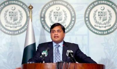 'پاکستان گھبراتا نہیں بھارت سے بات چیت کے ذریعے معاملات حل کیے جا سکتے ہیں'