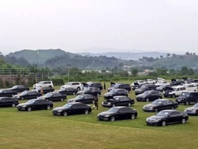 وزیراعظم ہائوس کی گاڑیوں کی نیلامی میں خریداروں کی عدم دلچسپی