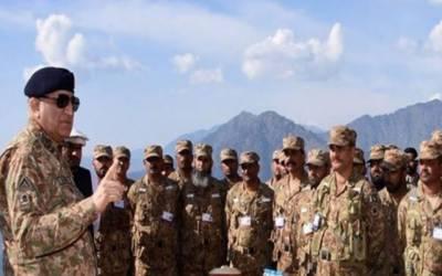 پاک فوج خطے میں امن و استحکام کے لیے موثر کردار ادا کر رہی ہے:آرمی چیف