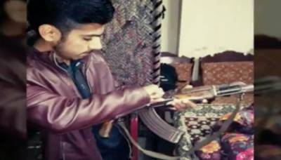 ہوائی فائرنگ، اسلحے کی تصاویر فیس بک پر اپ لوڈ کرنیوالا نوجوان گرفتار