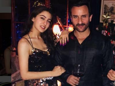 سیف علی خان نے اپنی بیٹی سارہ علی کیساتھ فلموں میں کام نہ کرنے کی وجہ بتادی