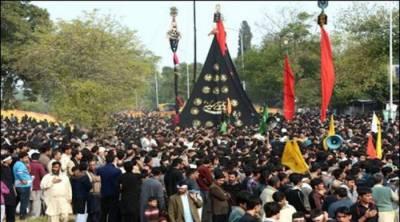 چہلم امام حسینؓ و شہدائے کربلا آج مذہبی عقیدت و احترام سے منایا جا رہا ہے