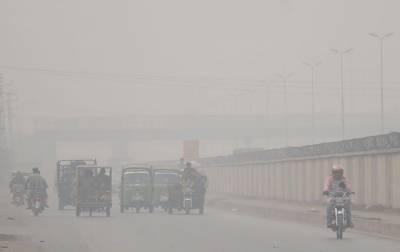 پنجاب میں سموگ کا راج، مختلف شہروں میں صبح سویرے فضا آلودہ