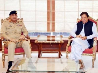 وزریراعظم عمران خان اور آرمی چیف جنرل قمر جاوید باجوہ کی اہم ملاقات