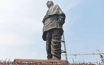 نریندر مودی نے 29 ارب روپے کے 'متنازع مجسمے' کا افتتاح کردیا