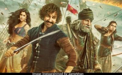 ٹھگ آف ہندوستان بالی ووڈ کی تاریخ کی مہنگی ترین فلم