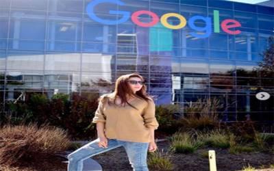 ماہرہ خان کا گوگل اور فیس بک ہیڈ کوارٹر کا دورہ