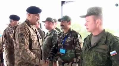 آرمی چیف کا کاؤنٹر ٹیررازم سینٹر پبی کا دورہ، فوجی مشقوں کا جائزہ