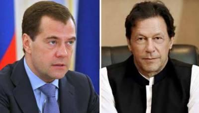 وزیراعظم کی روسی ہم منصب سے ملاقات، دورۂ پاکستان کی دعوت