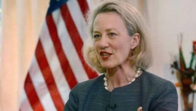 نائب امریکی وزیر خارجہ ایلس ویلز پاکستان پہنچ گئیں