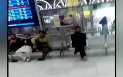 عرب ملک کے ایئرپورٹ پر 100 سے زائد پاکستانی پھنس کر رہ گئے