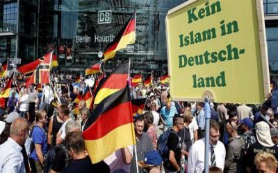 جرمن شہریوں کے غیرملکیوں ، مسلمانوں کیخلاف تعصب میں بے پناہ اضافہ