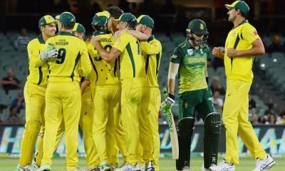 آسٹریلیا نے مسلسل 7 ون ڈے شکستوں کے بعد فتح کا مزہ چکھ لیا