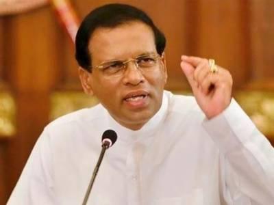 سری لنکا کے صدر نے پارلیمنٹ تحلیل کر دی، قبل از وقت الیکشن کا اعلان