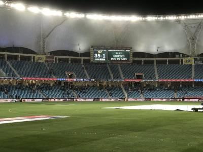 آخری ون ڈے میچ بارش کی نذر،پاکستان اور نیوزی لینڈ کی سیریز 1-1 سے برابر