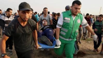غزہ پر اسرائیلی فورسز کا تازہ حملہ، 6 فلسطینی شہید