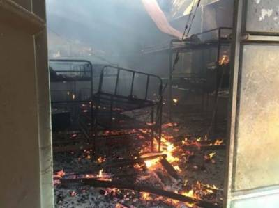 یوگنڈا ناراض طالب علم نے اسکول کو آگ لگادی