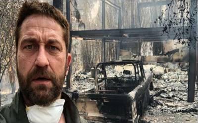 کیلی فورنیا میں خوف ناک آتش زدگی: ہالی ووڈ اداکاروں کے گھر بھی جل گئے