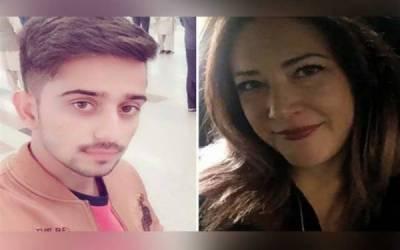 پاکستانی نوجوان کی محبت میں گرفتار امریکن خاتون سیالکوٹ پہنچ گئی