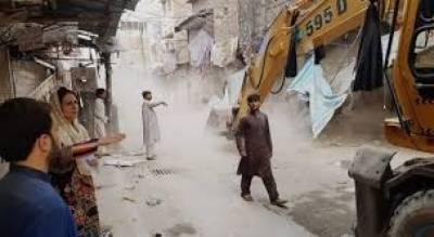 کراچی میں تجاوزات کیخلاف آپریشن چڑیا گھر تک پہنچ گیا
