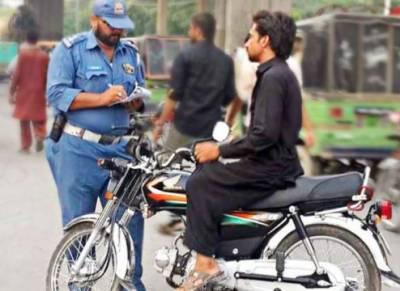 ون وے کی خلاف ورزی پر بھی لاہور کے شہریوں پر ای چالان ہوگا