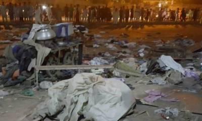 کراچی: قائد آباد دھماکے کا مقدمہ پولیس کی مدعیت میں تھانہ سی ٹی ڈی میں درج