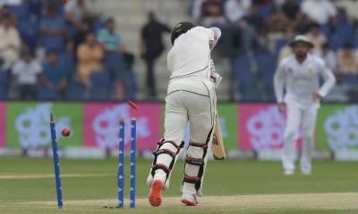 ابوظبہی ٹیسٹ : دوسرے دن کھیل کے اختتام تک نیوزی لینڈ نے اپنی پوزیشن مستحکم کر لی
