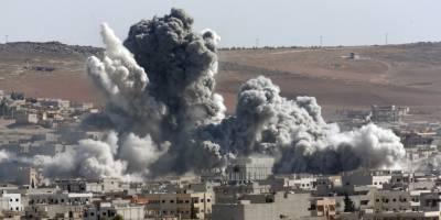 شام: داعش مخالف اتحاد کی بمباری میں 43 افراد ہلاک