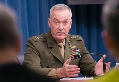 افغانستان میں طالبان کی پوزیشن کافی مضبوط ہے، جنرل جوزف کا اعتراف